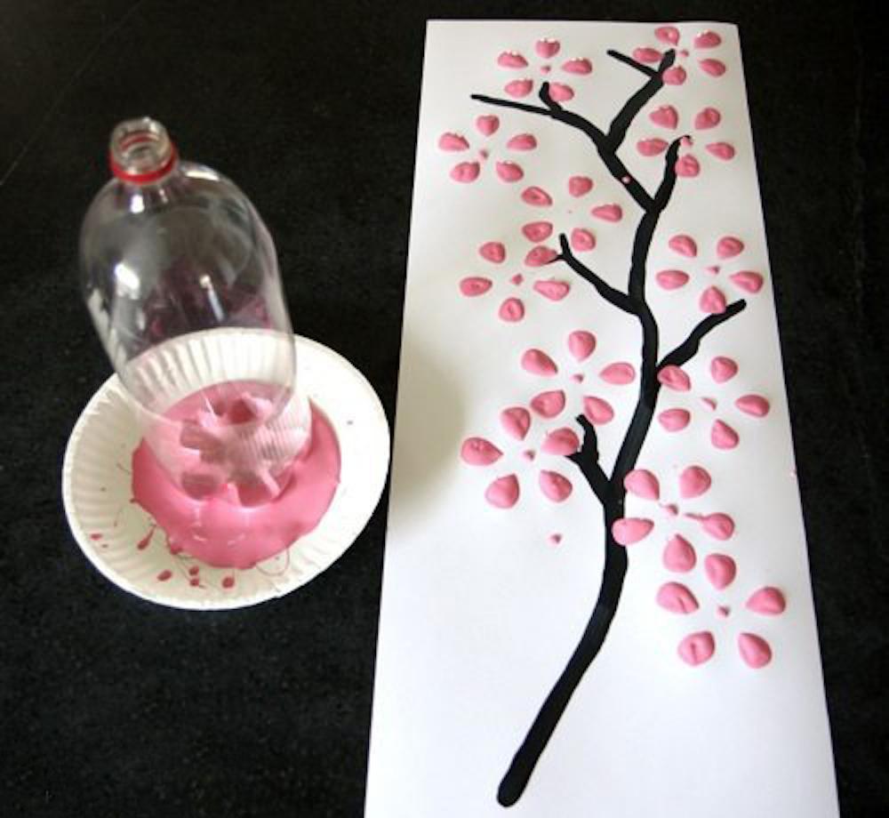 Cesnjev cvet beautyfull blog ideje za ustvarjanje z otroki