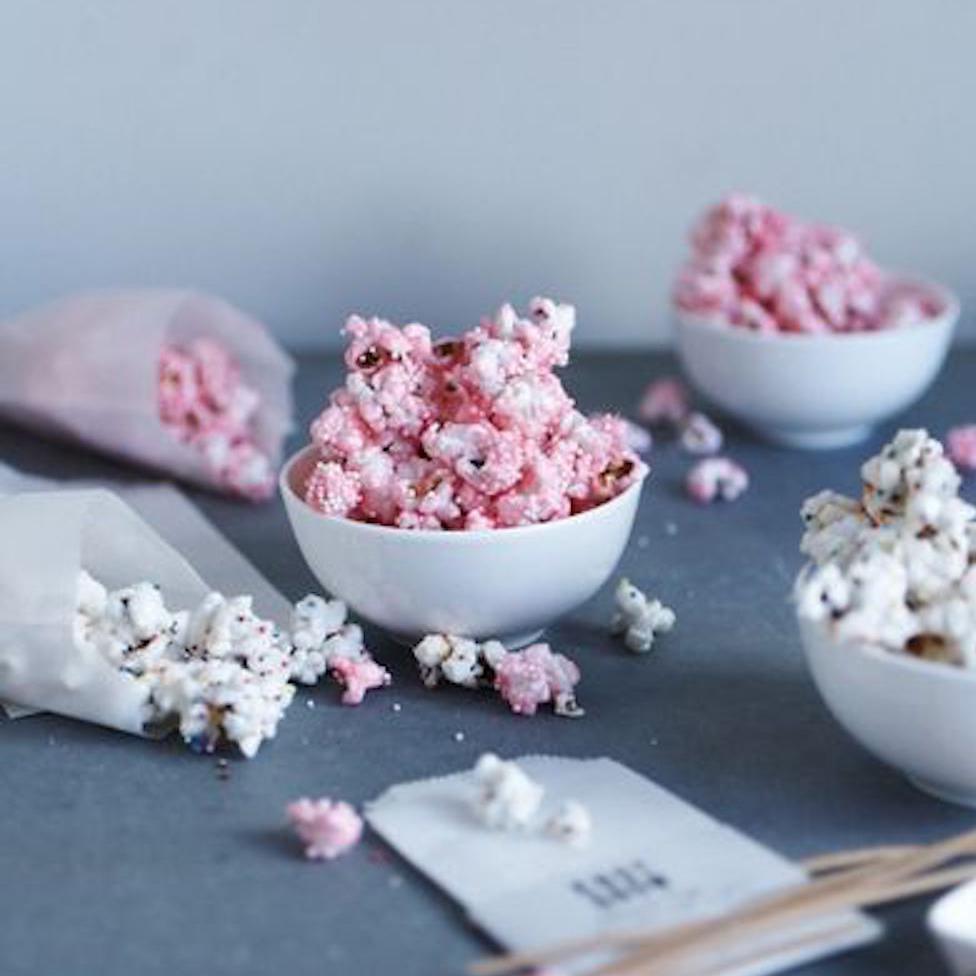 Cesnjev cvet beautyfull blog ideje za zabavo kokice roza