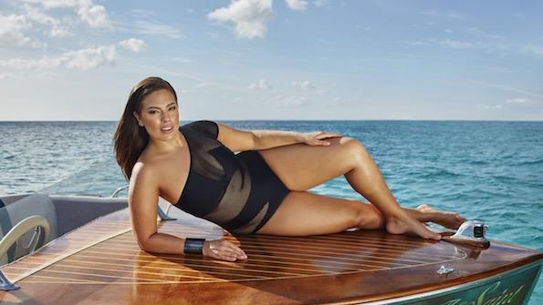 Ashley Graham swimsuitsforall kopalke za mocnejse postave 1