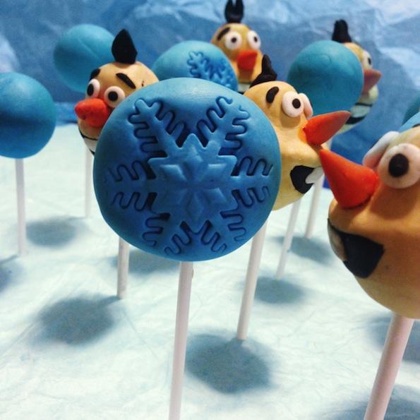 Beautyfullblog kako-izdelati-popcakes-kopeli Olaf Frozen 6
