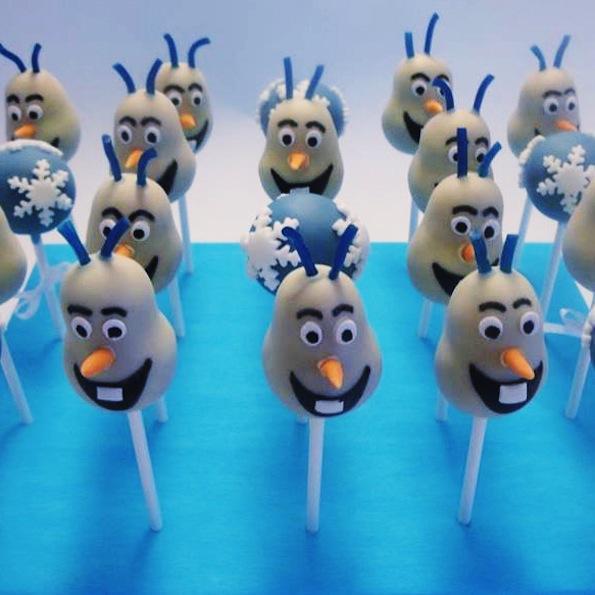 Beautyfullblog kako-izdelati-popcakes-kopeli Olaf Frozen