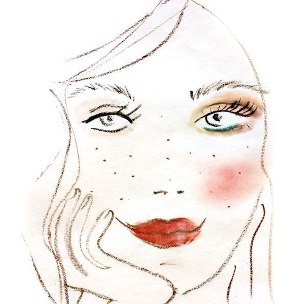Beautyfullblog Pastelen Mareličen Makeup 4