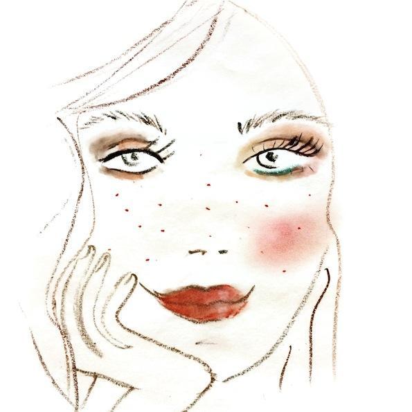 Beautyfullblog Pastelen Mareličen Makeup 5