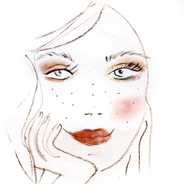 Beautyfullblog Pastelen Mareličen Makeup 6