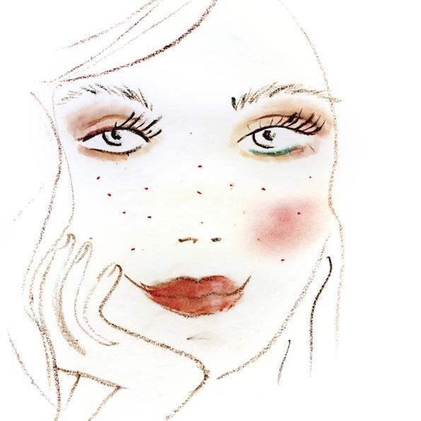 Beautyfullblog Pastelen Mareličen Makeup 7