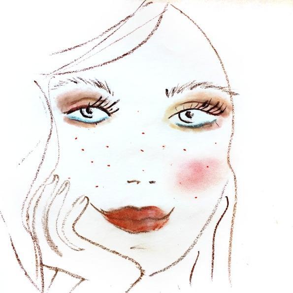 Beautyfullblog Pastelen Mareličen Makeup 8