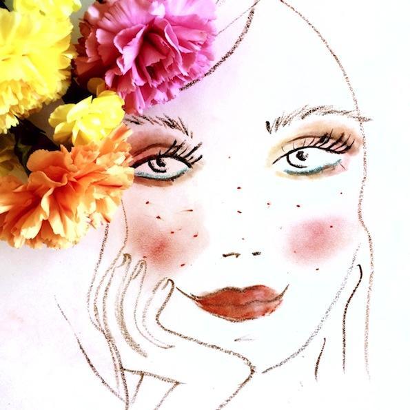 Beautyfullblog Pastelen Mareličen Makeup 9