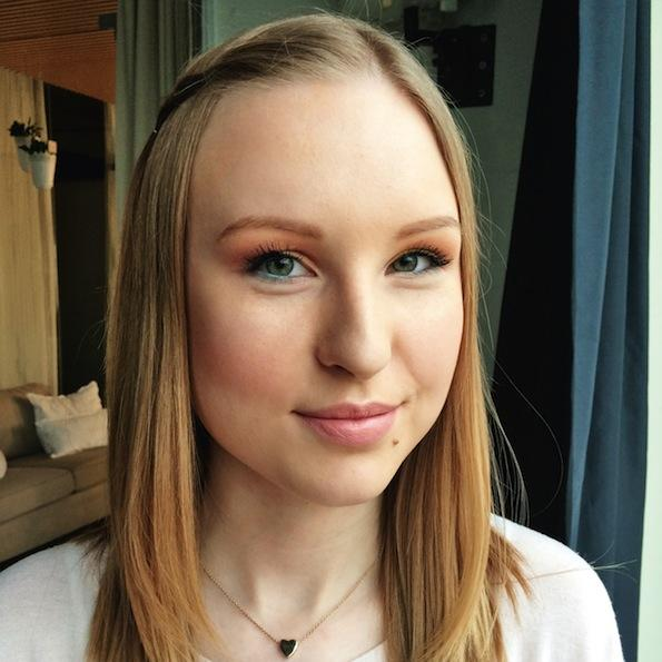 Beautyfullblog Pastelen Mareličen Makeup Simona Ribic