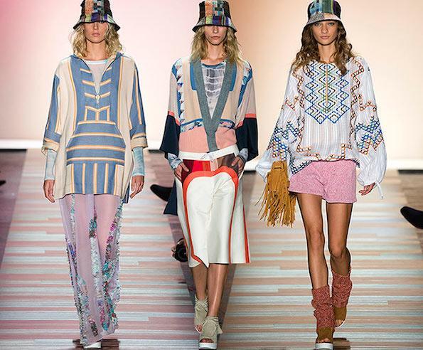 Beautyfullblog top-barva-leta-2016-rose-quartz-roznata-serenity-modra BCBG_Max_Azria_spring_summer_2016_collection_New_York_Fashion_Week1