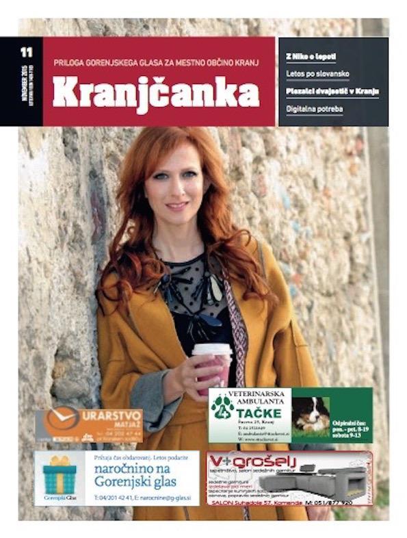 Nika Veger slovenska lepotna blogerka Kranjcanka foto by Tina Dokl