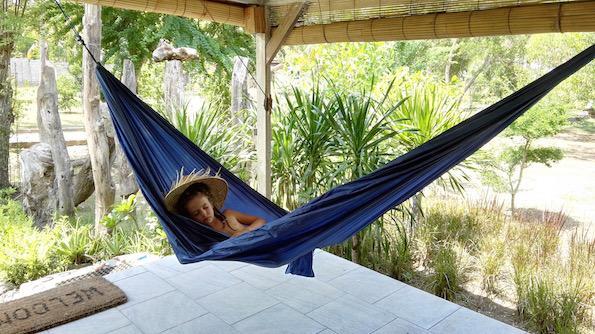 Beautyfullblog Gili Eco Villas Terrace hammock