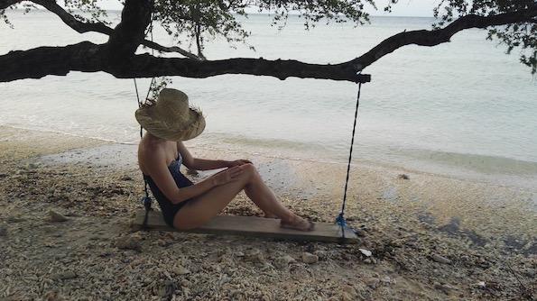 Beautyfullblog Gili Eco Villas Swing
