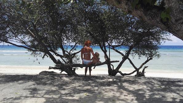 Beautyfullblog Gili Eco Villas Sea