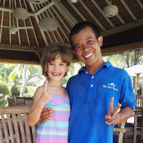 Beautyfullblog Gili Trawangan Eco Villas Friendly Staff