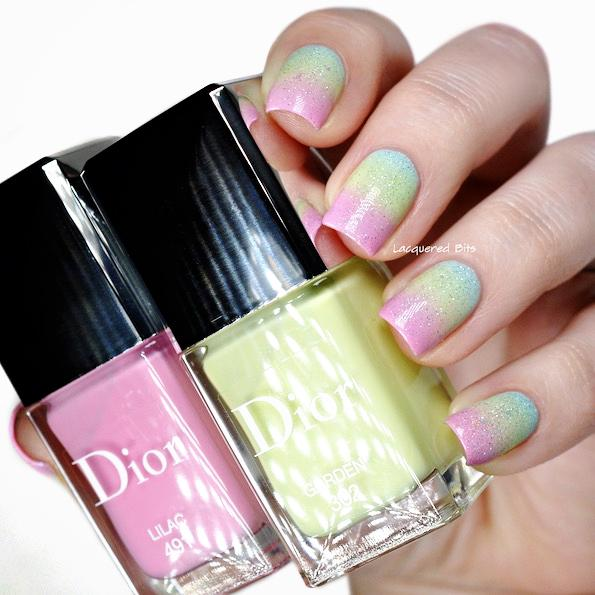 Dior spring manicure 2016 glowing gardens by Beautyfullblog 2