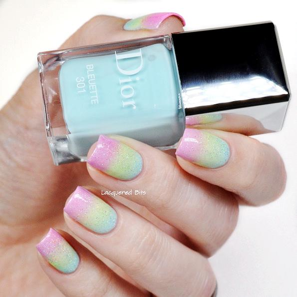 Dior spring manicure 2016 glowing gardens by Beautyfullblog 3