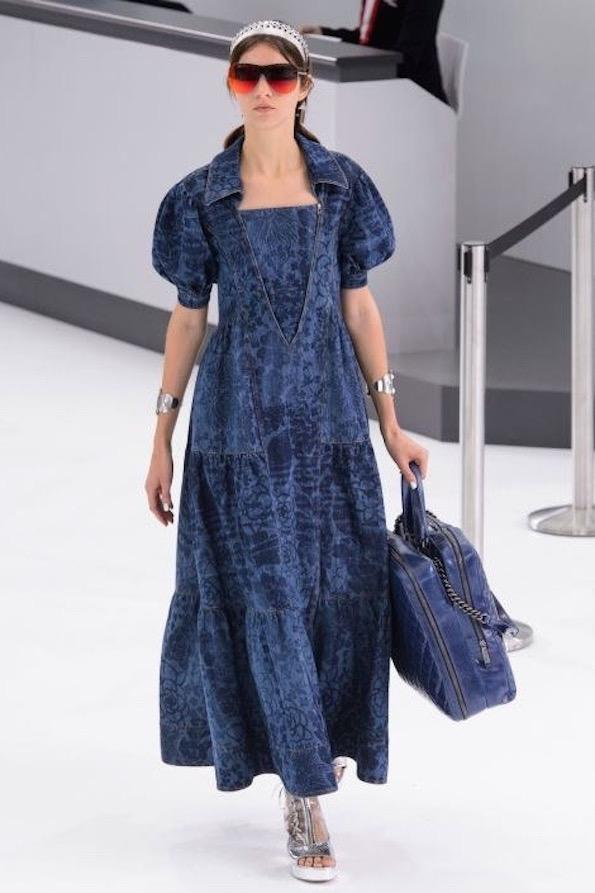 Jeans Chanel ss 2016 dress