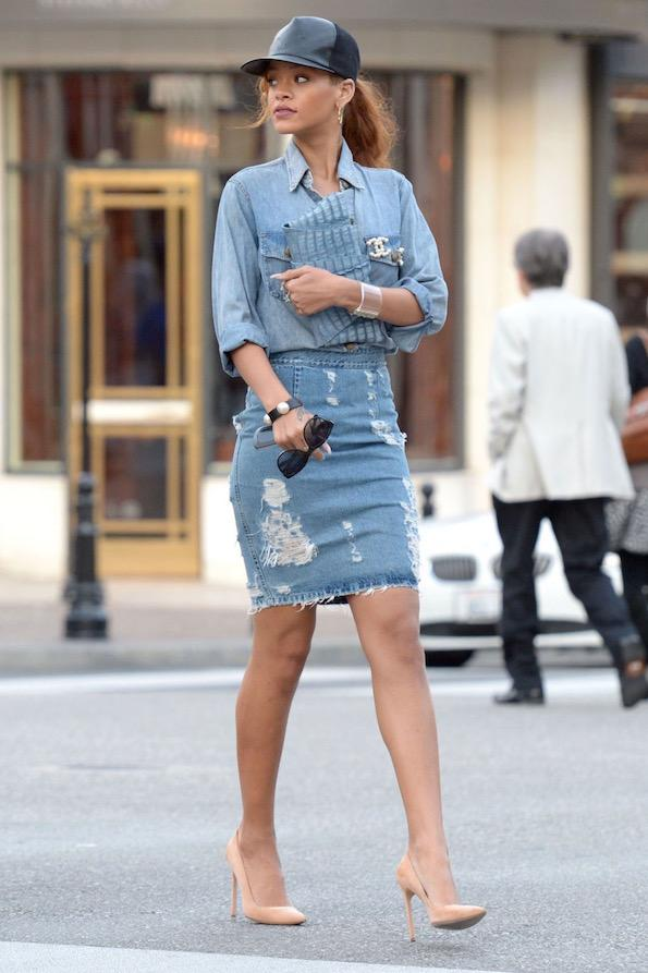 Jeans rihanna by marieclaire