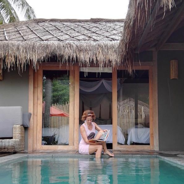 Gili air Slow Villas Pool