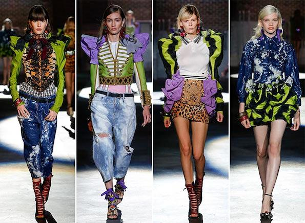 pantone-greenery-barva-leta-2017-dsquared2_spring_summer_2017_collection