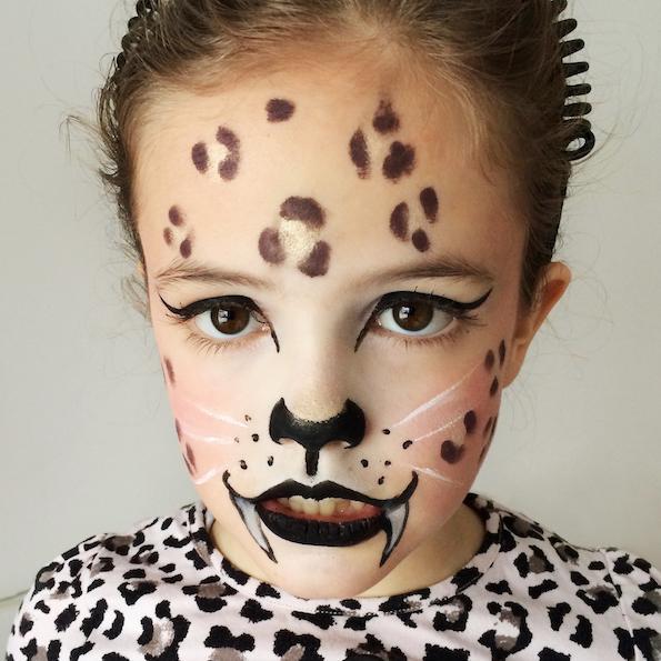 Enostavne pustne poslikave z licili ItStyle gepard