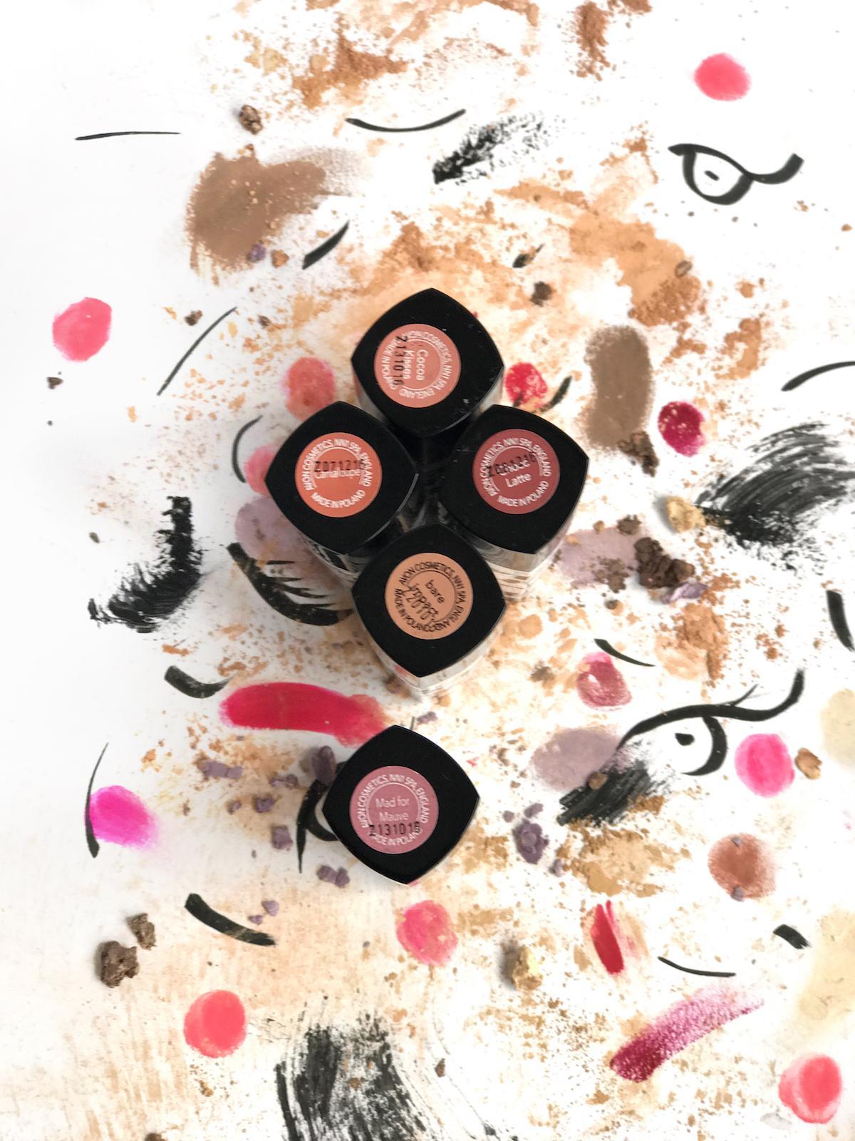 Avon Mark Lipstick Nude Tones Beautyfullblog