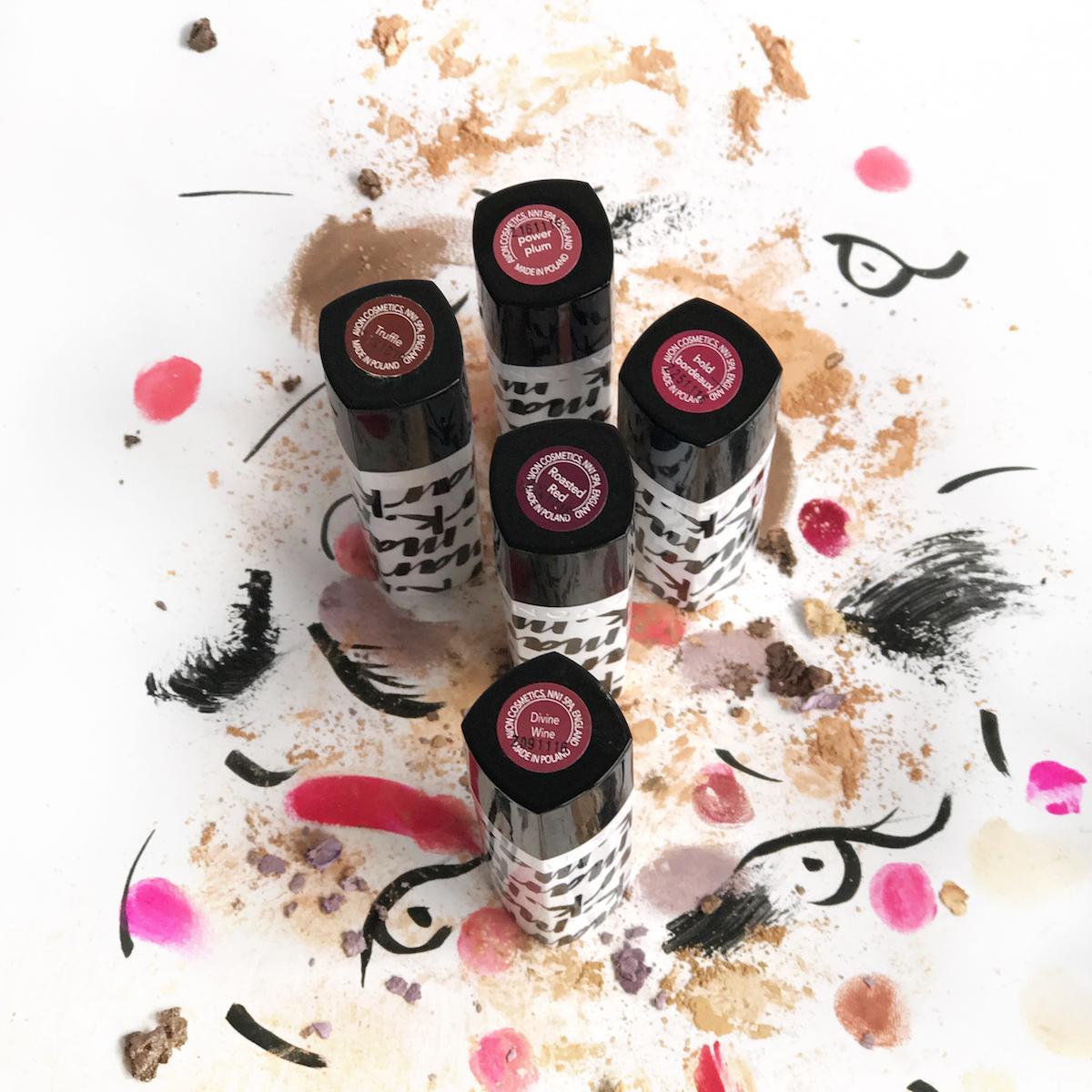 Avon Mark Lipstick Berry Tones Beautyfullblog