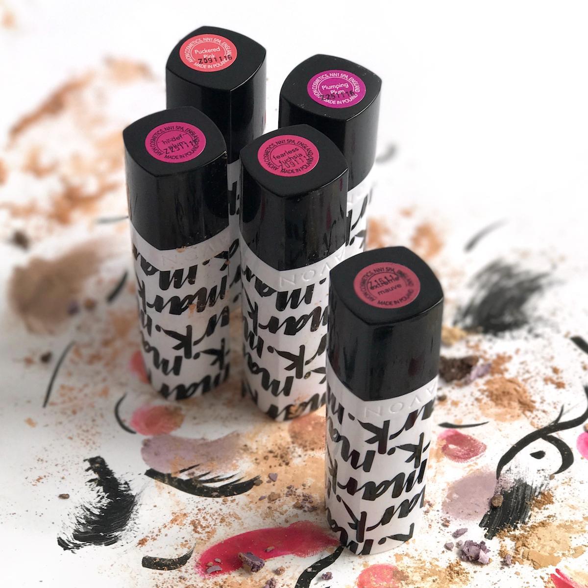 Avon Mark Lipstick Pink Tones Beautyfullblog