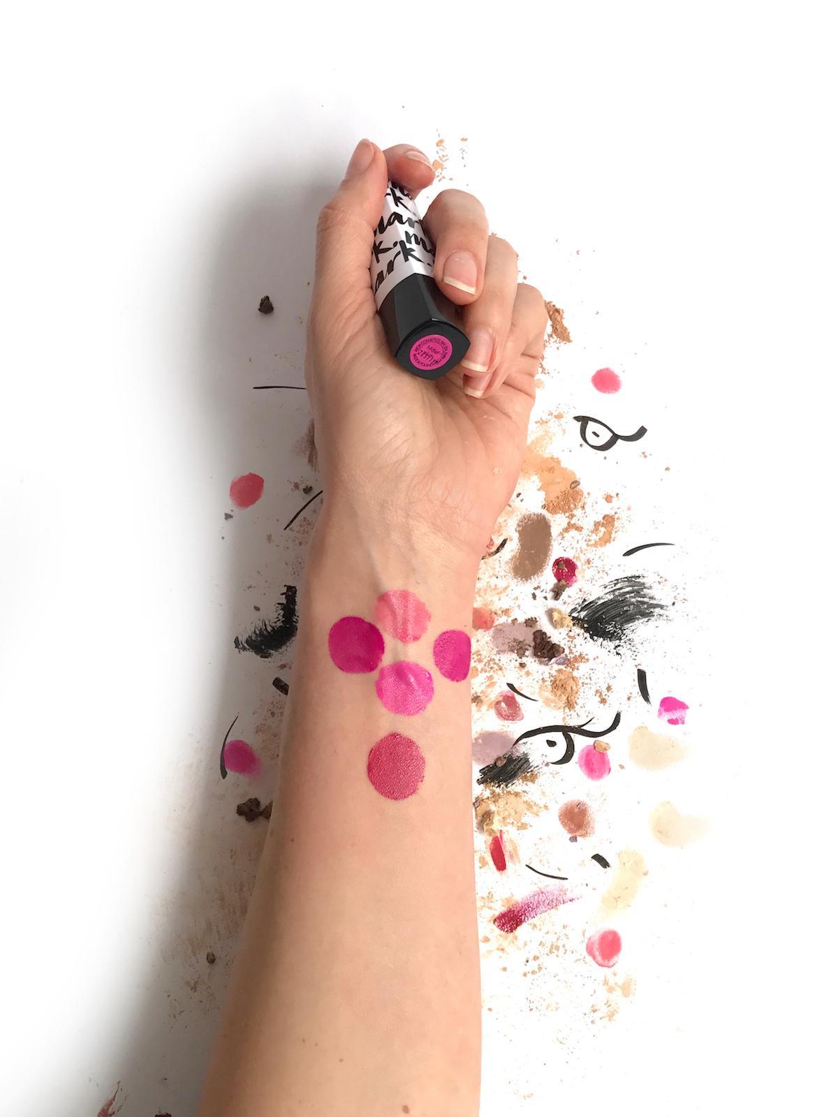 Avon Mark Lipstick Pink Tones Swatches Beautyfullblog