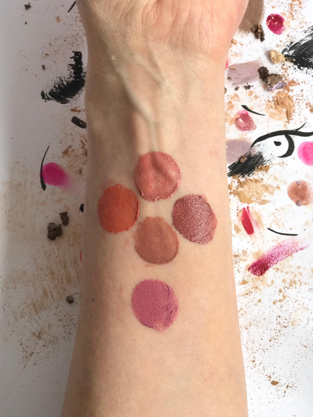 Avon Mark Lipstick Nude Tones Swatches Beautyfullblog