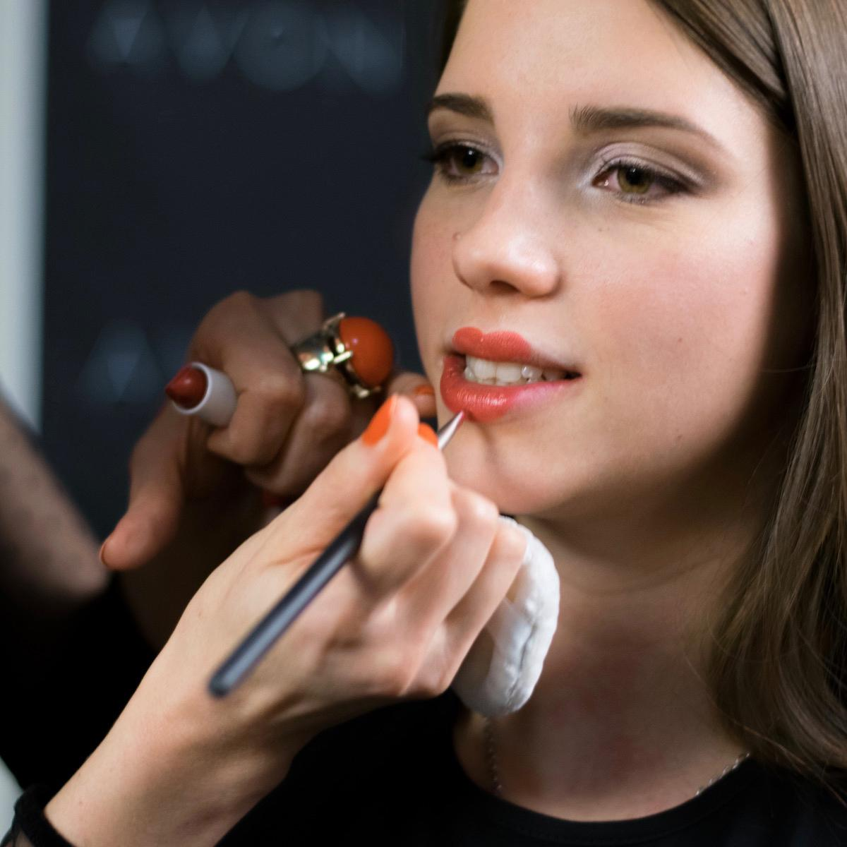 Avon Mark Ombre Lips ustnice beautyfullblog