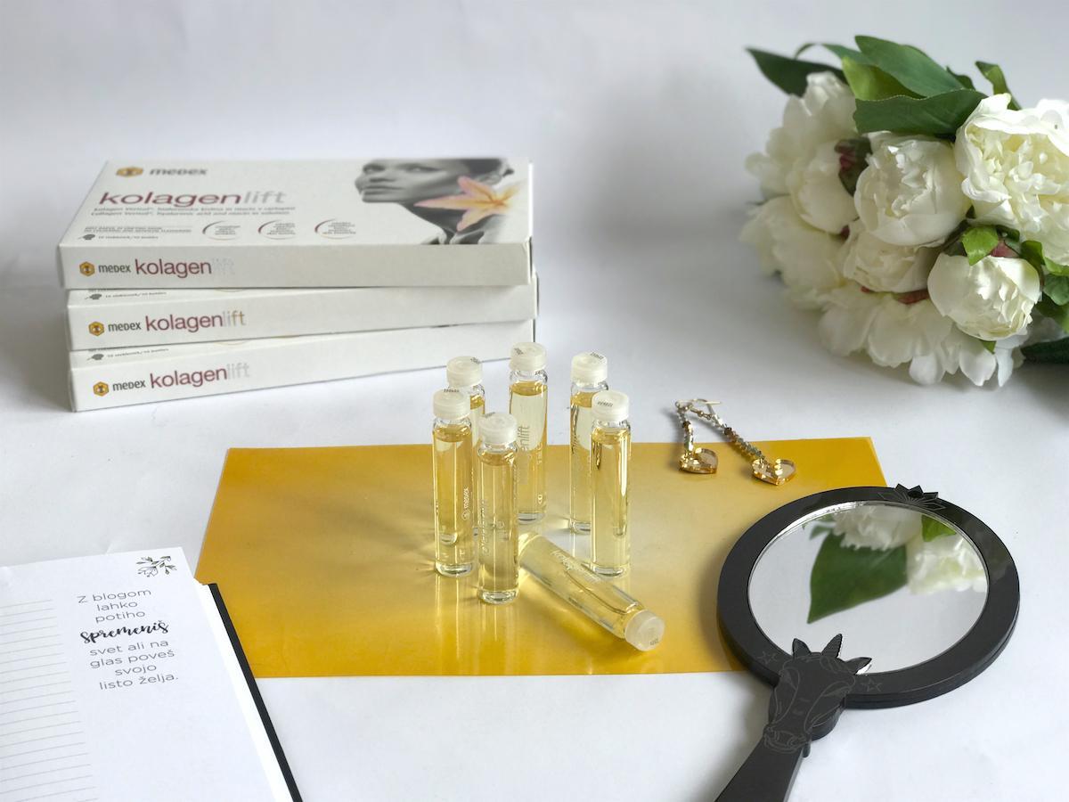 Medex kolagenlift Beautyfullblog test