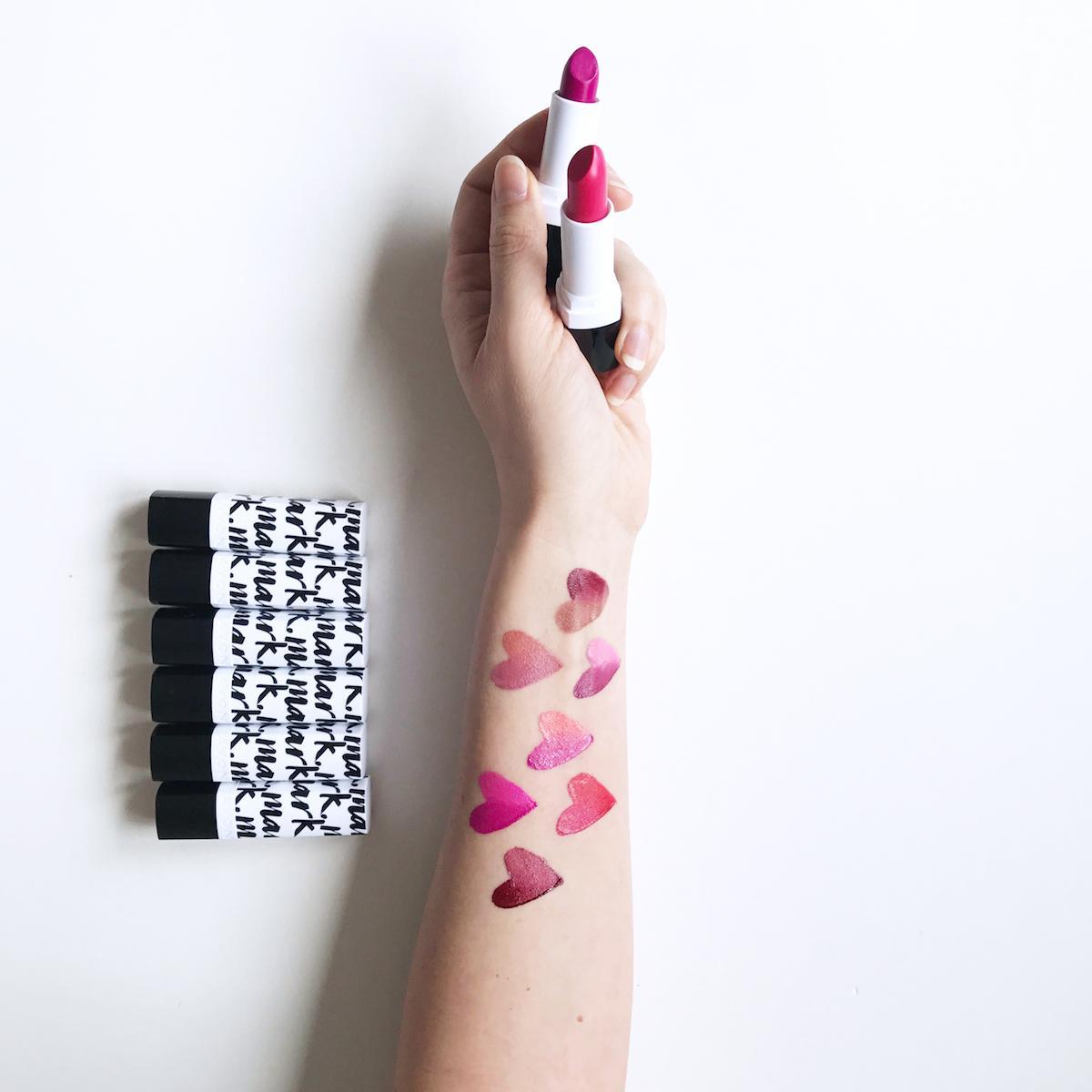 Avon Mark Ombre lipstick sminke