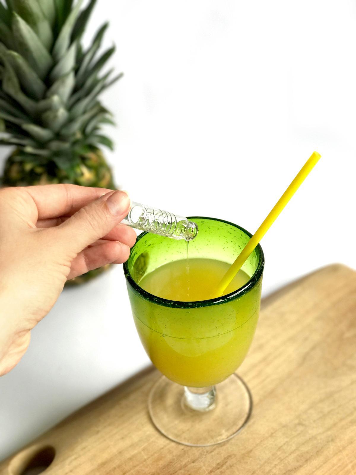 Medex kolagenlift beautyfullblog ananas napitek