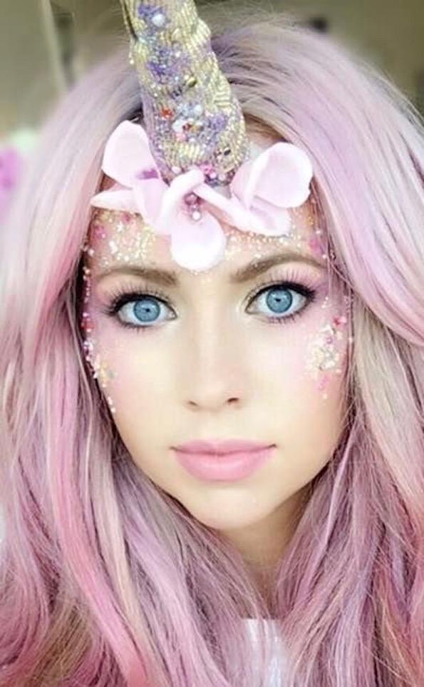 samorog zabava makeup ličenje
