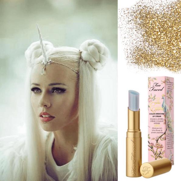samorog zabava makeup ličenje osvetljevalec