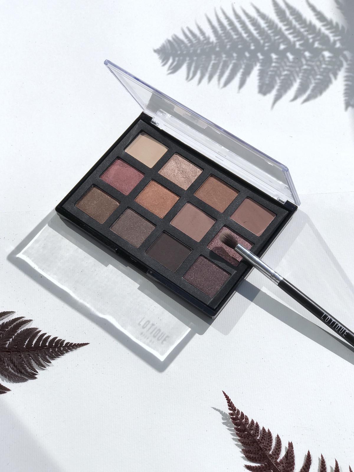 Lotique Makeup Beautyfullblog NIka Veger paleta senčil