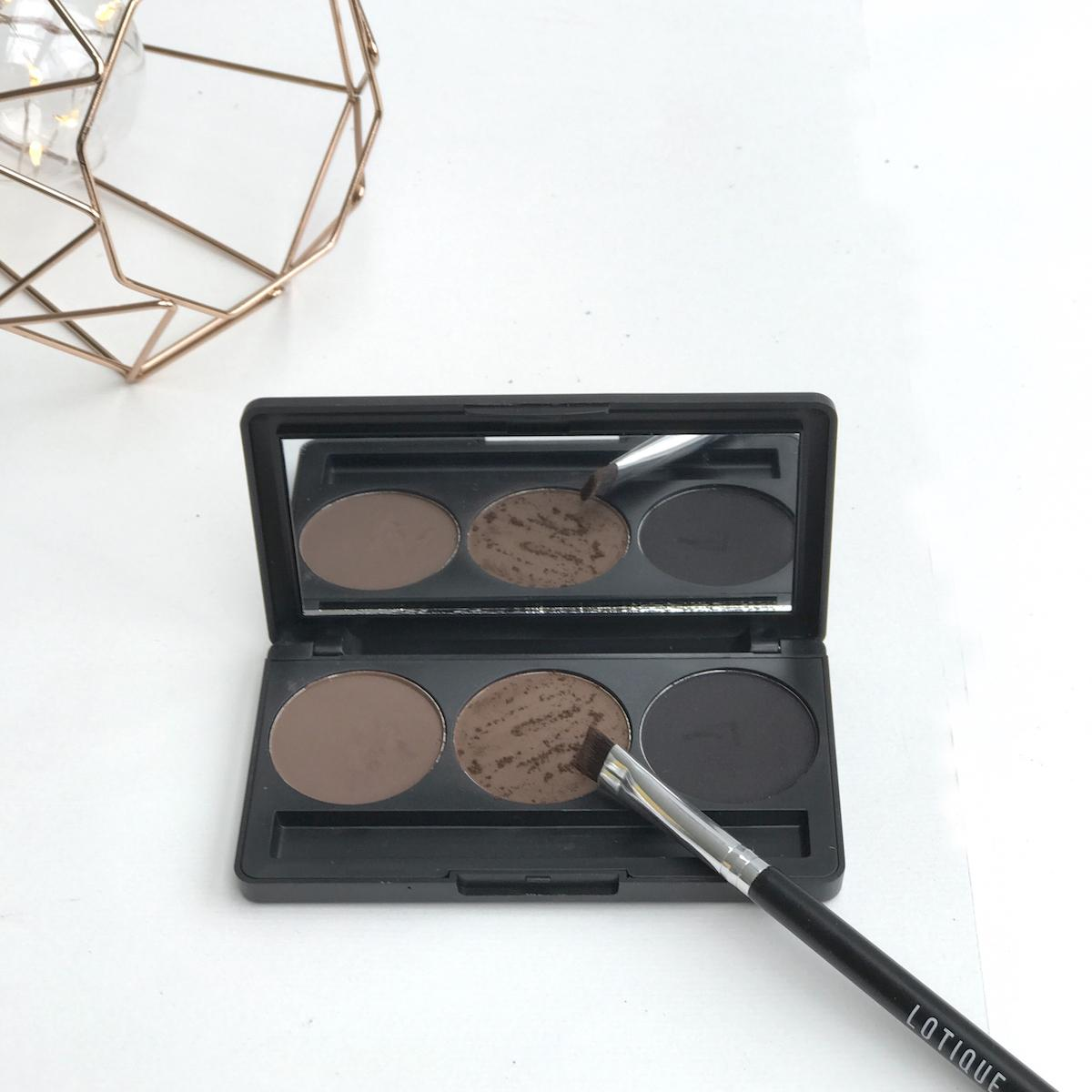 Lotique Makeup Beautyfullblog NIka Veger paleta senčil za obrvi