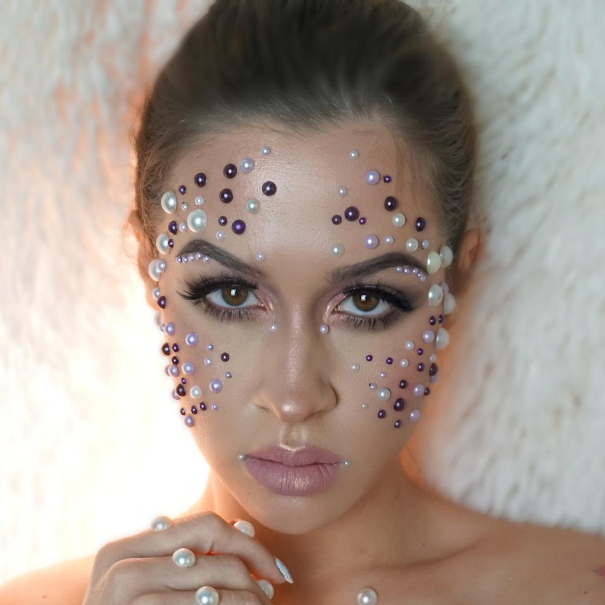 Maja Gorenc Halloween Makeup Beautyfullblog Pearls