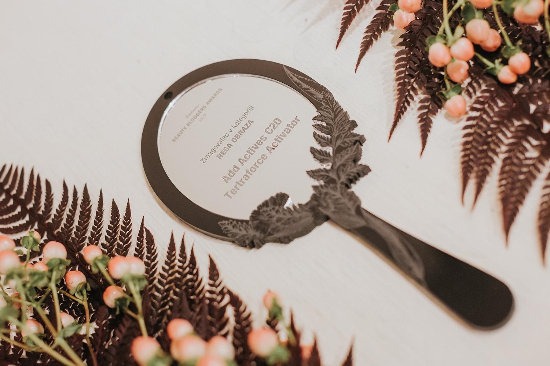 Nagrade lepotnih blogerk Beauti Bloggers Awards 2017 Beautyfullblog add actives