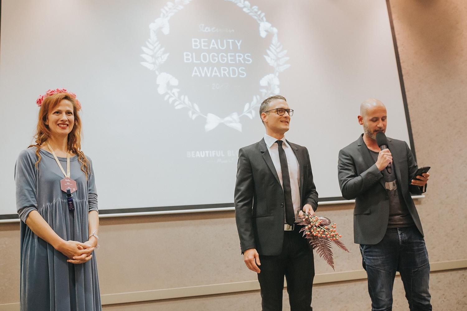 Nagrade lepotnih blogerk Beauti Bloggers Awards 2017 Beautyfullblog Starskin Olaplex