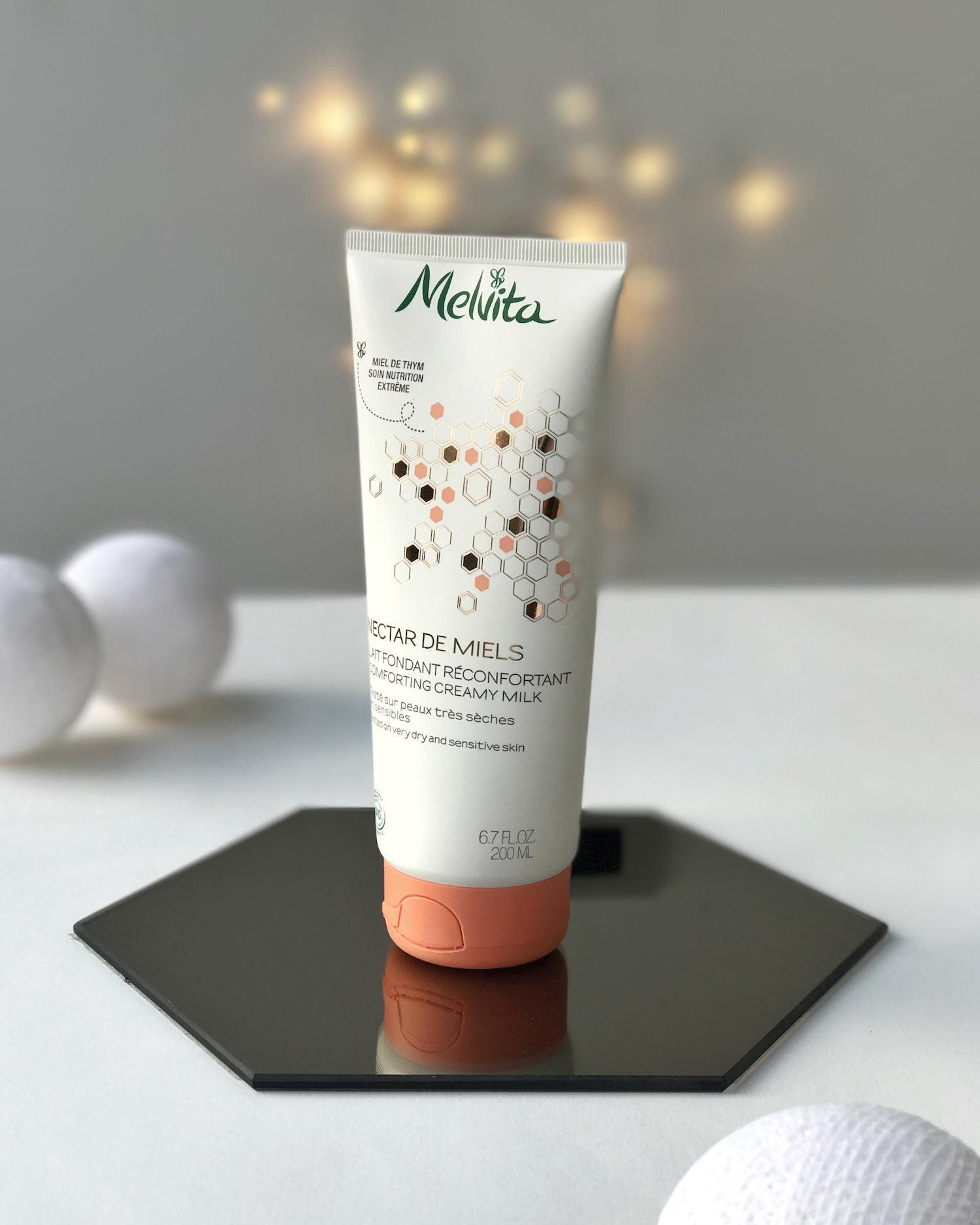 Beautyfullblog Nika Veger Melvita darila mleko za telo