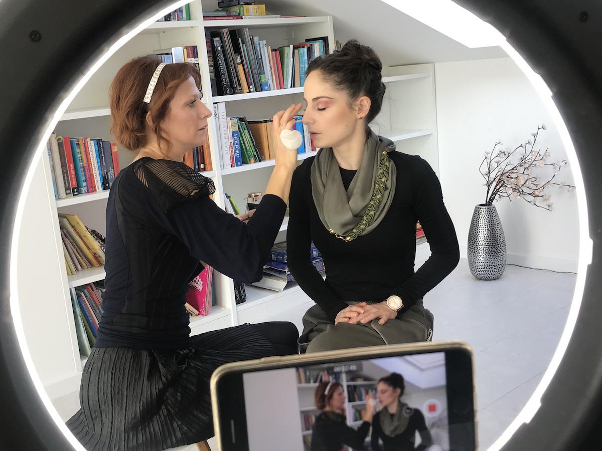 Ana Klašnja Vichy Dermablend Makeup NIka Veger