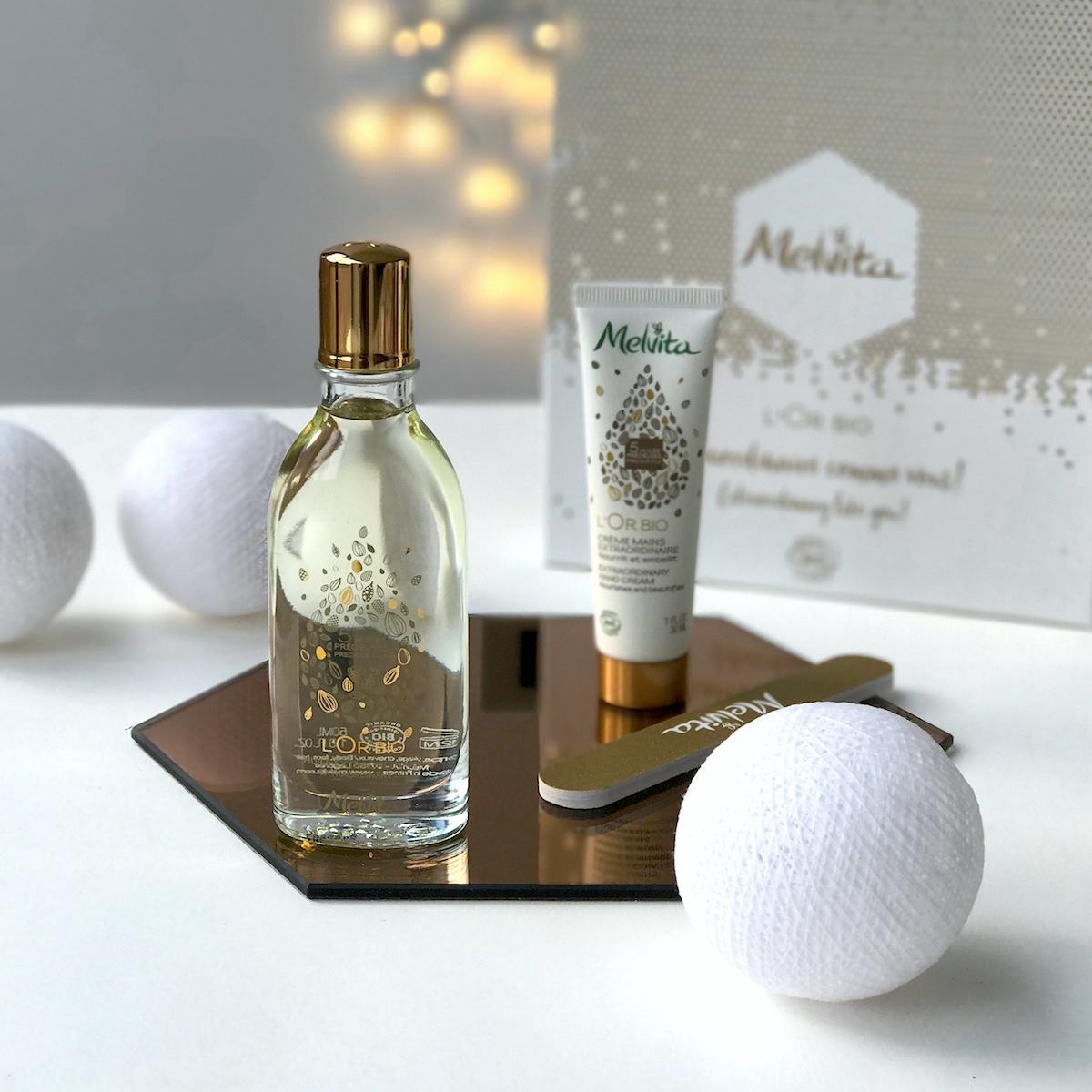 Beautyfullblog Nika Veger Melvita darila lor bio izjemno zlato olje