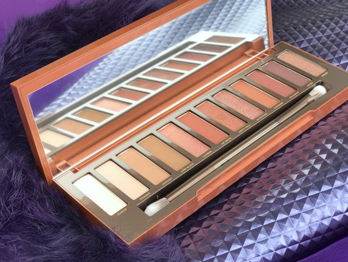 Urban Decay Slovenia Party Zagreb Naked Heat palette