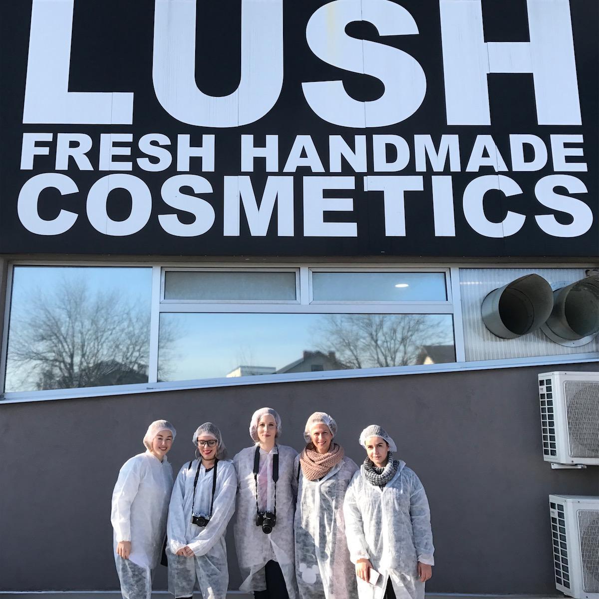 Lush Cosmetics Tour Factory Beautyfull Blog