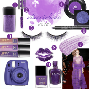 Pantone 2018 ultravijolicna beautyfull blog
