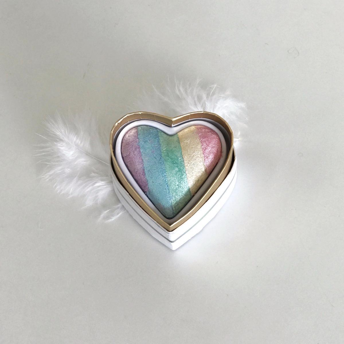 unicorn rainbow highlighter osvetljevalec lepotna kura beautyfullblog