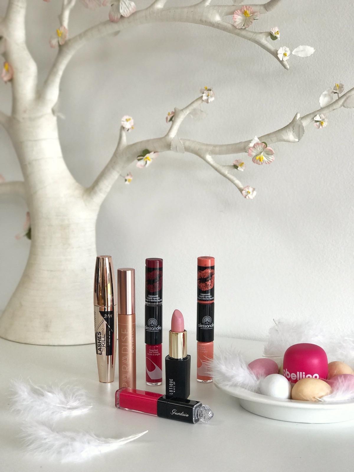 lotique šminka loreal paradise maskara alessandro šminka in lak v enem lepotna kura beautyfullblog