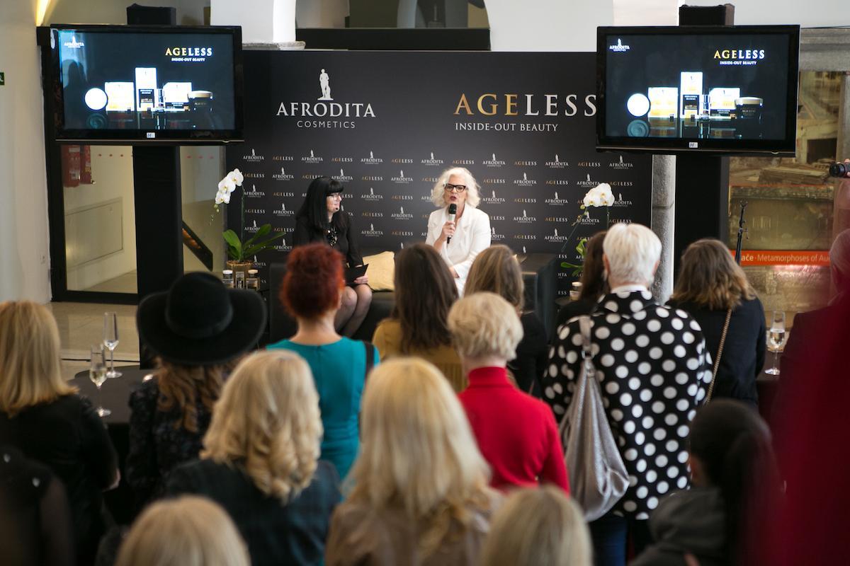Afrodita Ageless medijska predstavitev